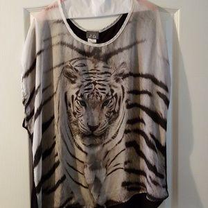 Dots Tiger blouse